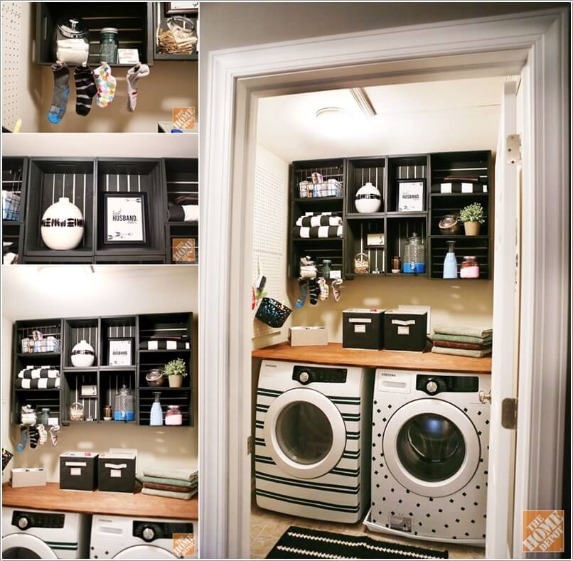 Top 10 Trending Laundry Room Ideas On Houzz: 12 Cool Ideas To Decorate Your Laundry Room Wall