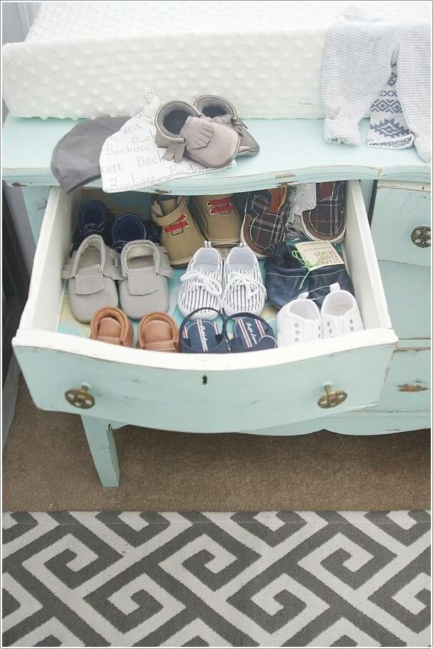 5  10 Cool Baby Shoe Storage Ideas for Your Baby's Nursery 5