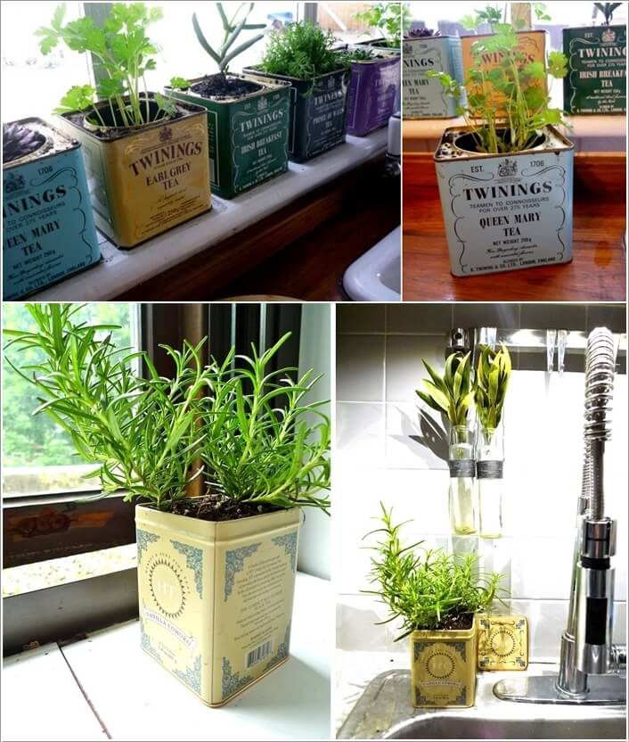 10 Diy Garden Ideas For Using Old Pallets: 10 Cool DIY Ideas To Grow An Indoor Herb Garden