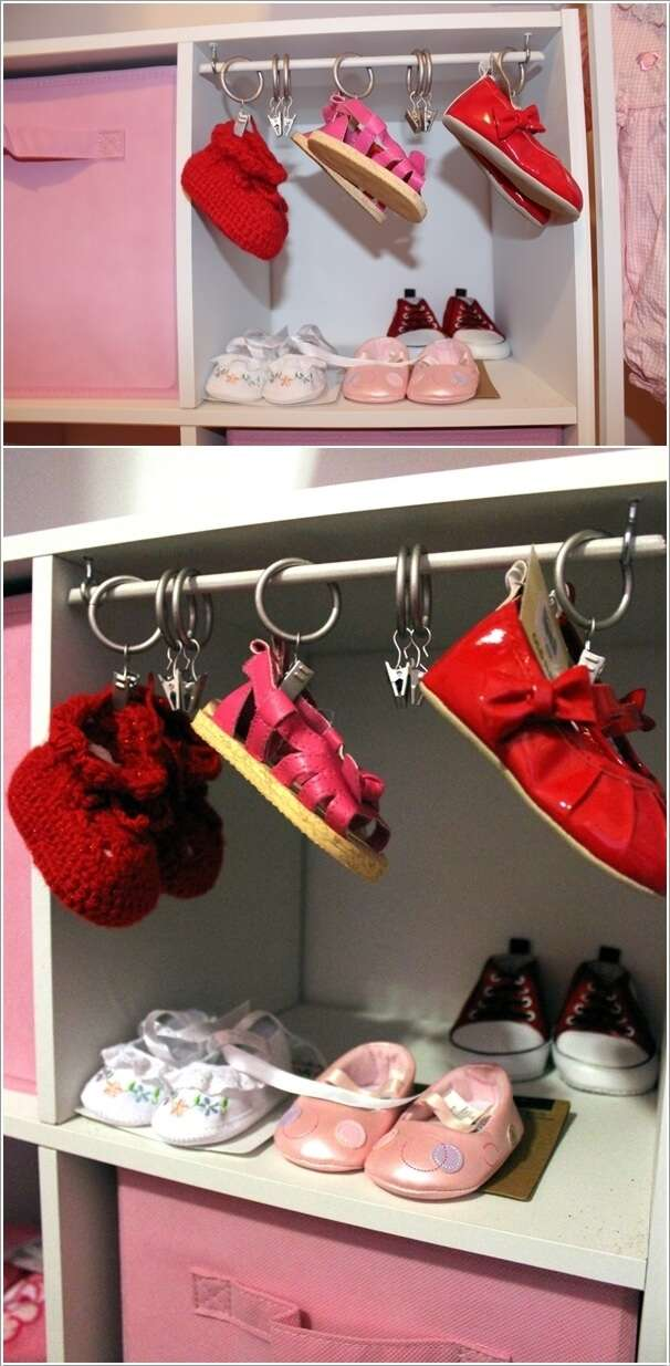 6  10 Cool Baby Shoe Storage Ideas for Your Baby's Nursery 6