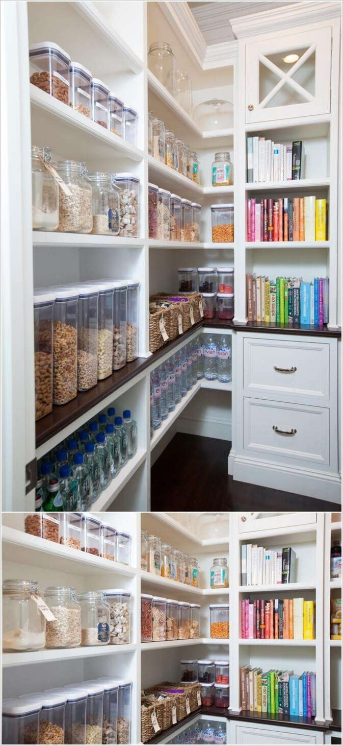 6  13 Cool Ideas to Store More in Your Pantry 620