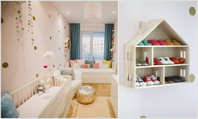 7  10 Cool Baby Shoe Storage Ideas for Your Baby's Nursery 7