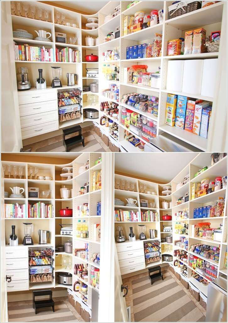 8  13 Cool Ideas to Store More in Your Pantry 819