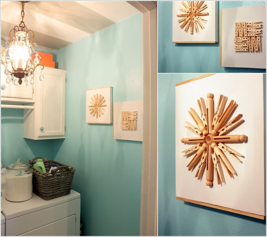 12 Cool Ideas To Decorate Your Laundry Room Wall