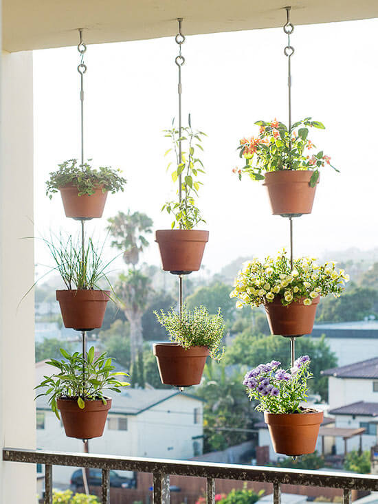 9. Hanging plants make everything better.
