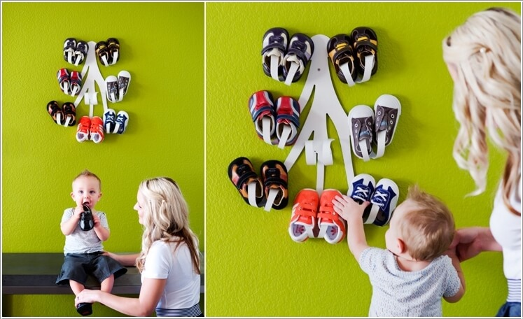 9  10 Cool Baby Shoe Storage Ideas for Your Baby's Nursery 9