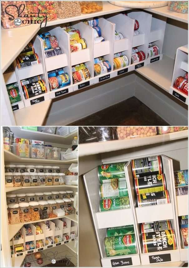 9  13 Cool Ideas to Store More in Your Pantry 919