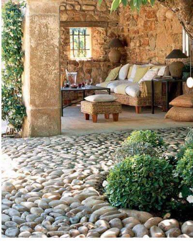 River pebbles Pathwar