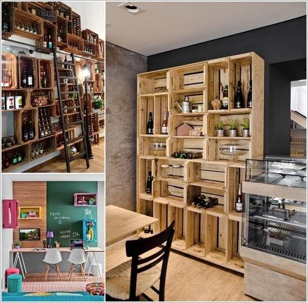 Wine Crates Part - 37: Amazing Interior Design