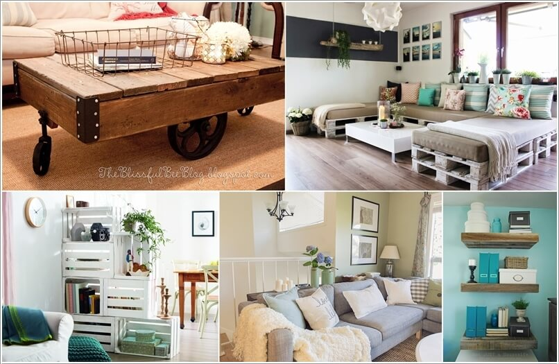 a  15 Cool DIY Furniture Projects for Your Living Room a22