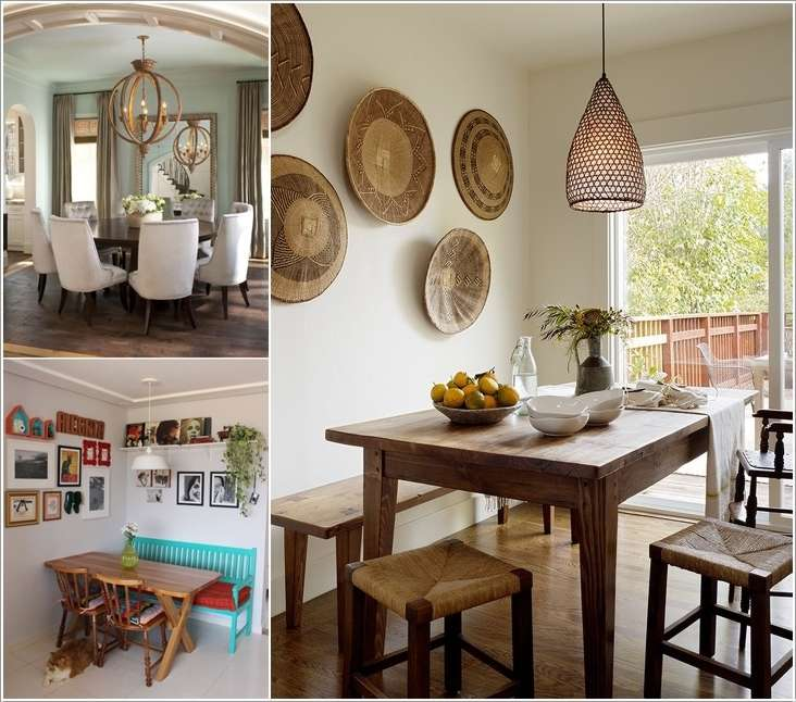 13 cool ideas to decorate your dining room wall - How to decorate a dining room ...