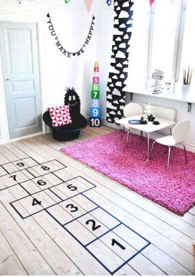 15 Fascinating DIY Floor Ideas for Indoors and Outdoors