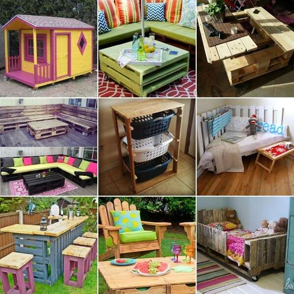 30 Creatively Cool Steampunk Diys: 30+ Creative And Cool DIY Pallet Furniture Ideas