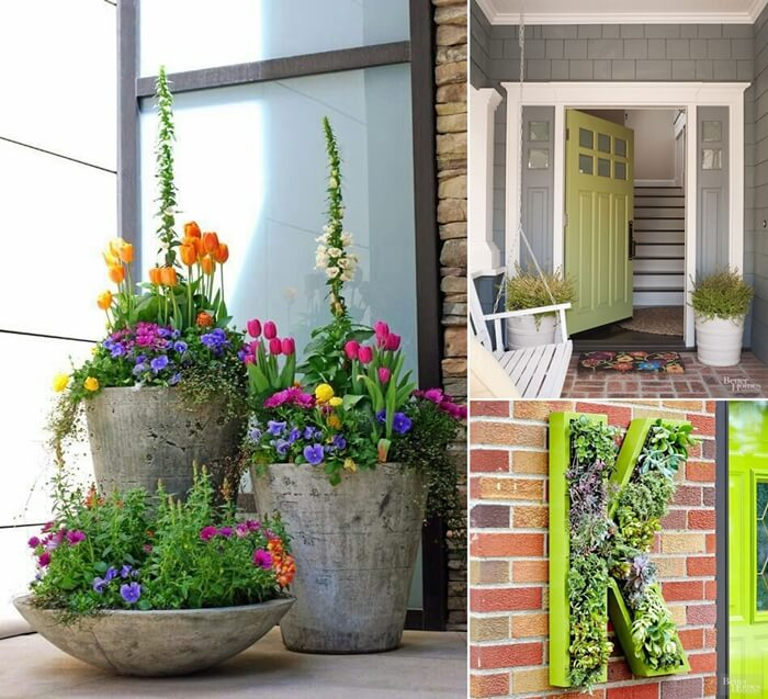 10 trendy front door decor ideas for a welcoming entry for Front door decor