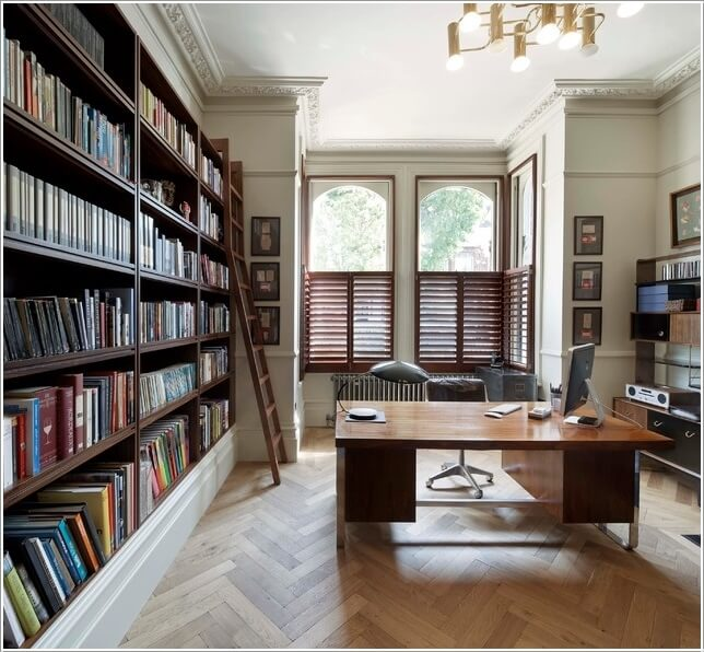 Beautiful Homeoffice Designs: 13 Cool Home Office Flooring Ideas You Will Admire