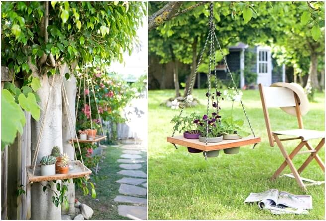 1  Let Your Planters Swing and Enjoy in Hanging Holders 133