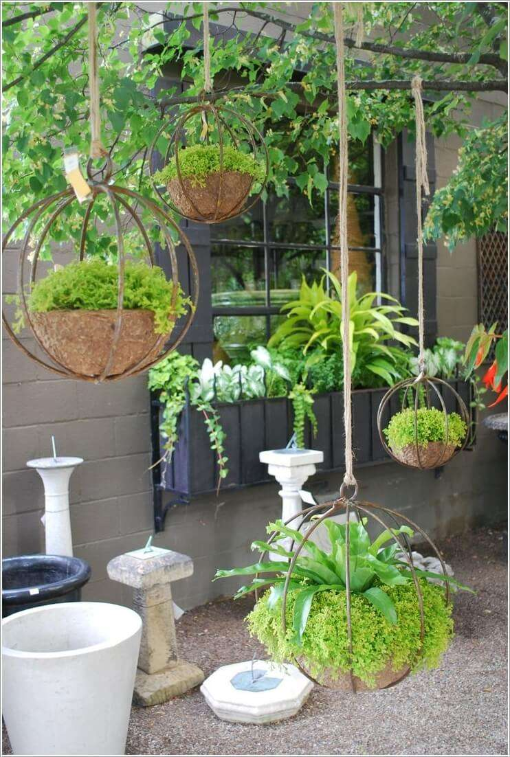 6  Let Your Planters Swing and Enjoy in Hanging Holders 611