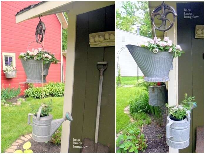 9  Let Your Planters Swing and Enjoy in Hanging Holders 911