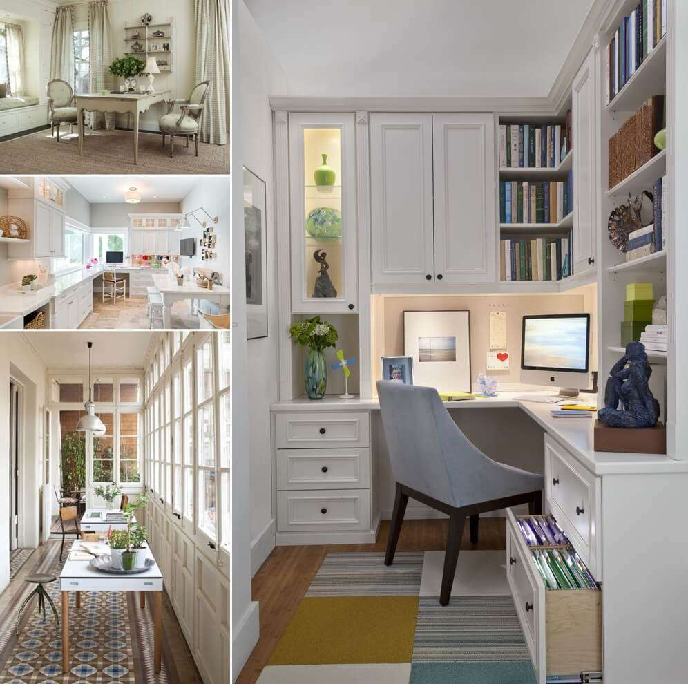 13 cool home office flooring ideas you will admire for Flooring ideas for home office