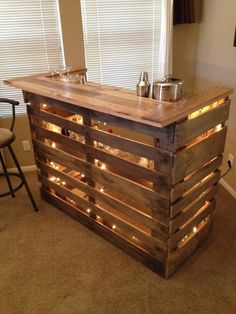 kitchen bar  12 Cool DIY Kitchen Pallets Ideas That You Have To Try kitchen bar