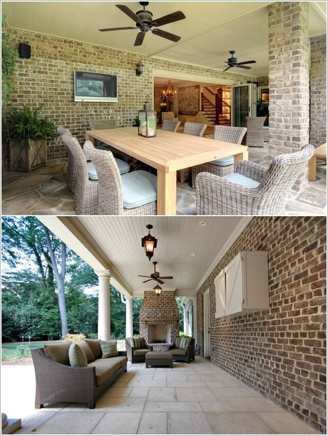 How Would You Decorate Your Outdoor Room Wall