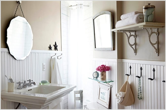 12  Create Storage on Your Bathroom Wall 122