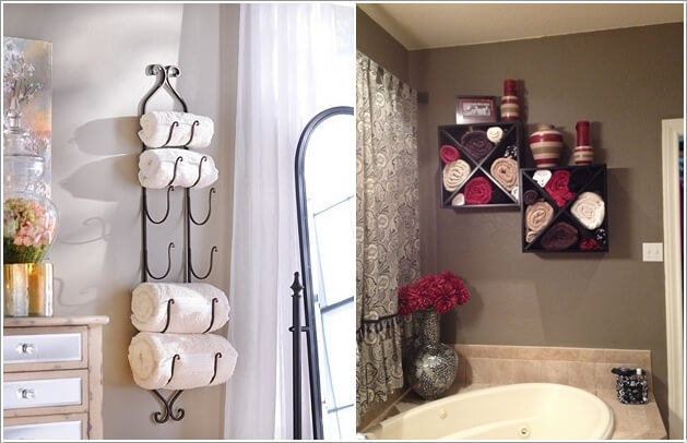 13  Create Storage on Your Bathroom Wall 132