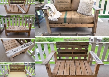 Build This Pallet Wood Chair for Your Patio fi