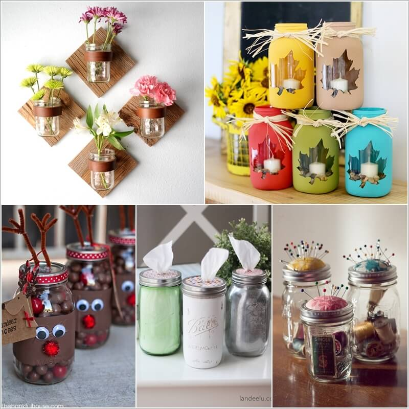 cool things to do with mason jars interior design blogs
