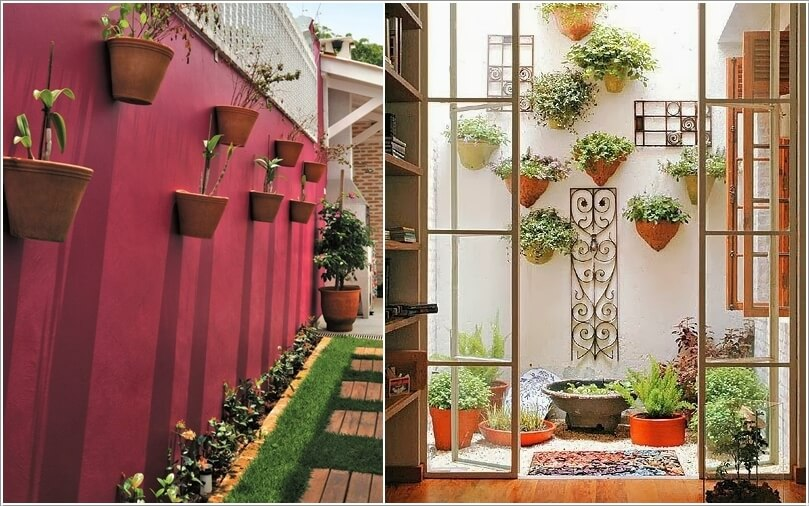 Decorate and Liven Up The Wall of Your Side Yard 1