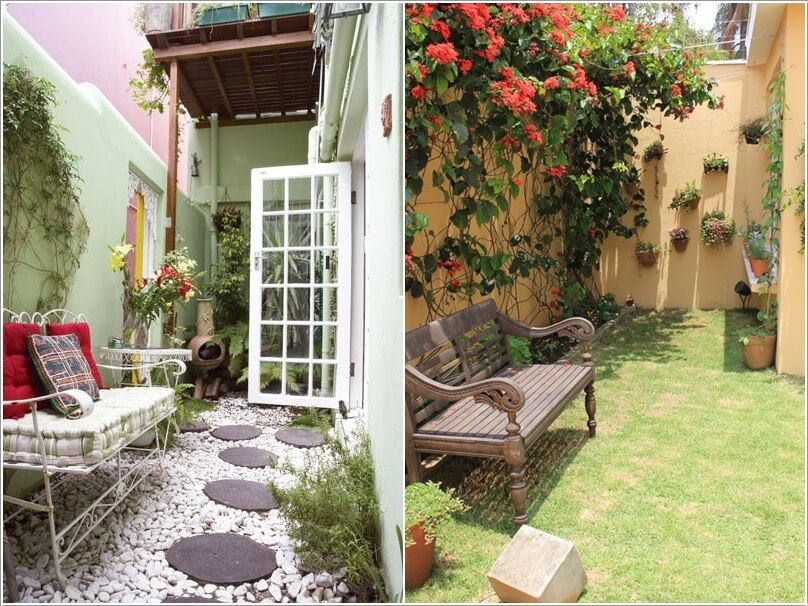 Decorate and Liven Up The Wall of Your Side Yard 3