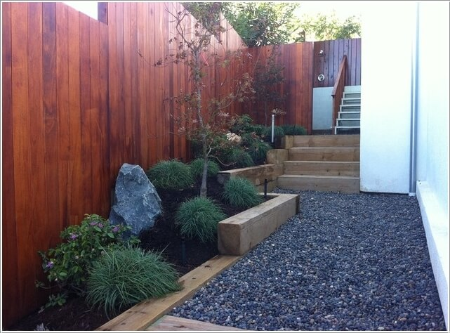 Decorate and Liven Up The Wall of Your Side Yard 5
