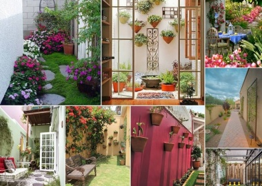 Decorate and Liven Up The Wall of Your Side Yard fi