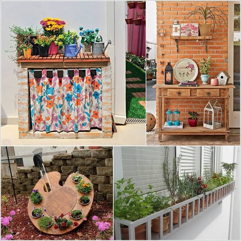 How About Creating An Outdoor Display a