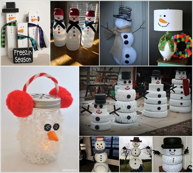 Make A Snowman from No Snow Materials This Winter a  Make A Snowman from No Snow Materials This Winter make a snowman from no snow materials this winter a