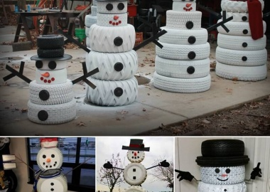 Make A Snowman from No Snow Materials This Winter  fi