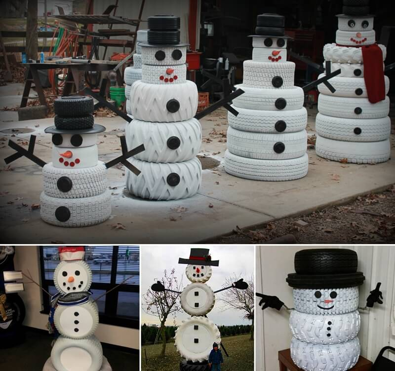 Make A Snowman From No Snow Materials This Winter