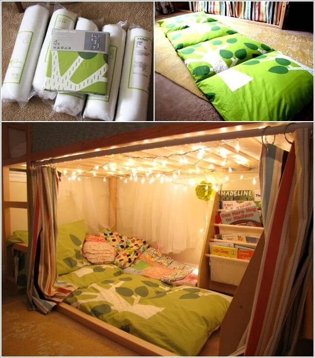 Make Your Kids Reading Nook Cozy
