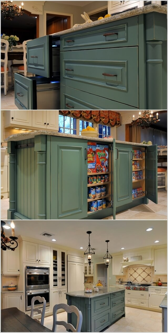 Make Your Kitchen Island Interesting and Cool 2