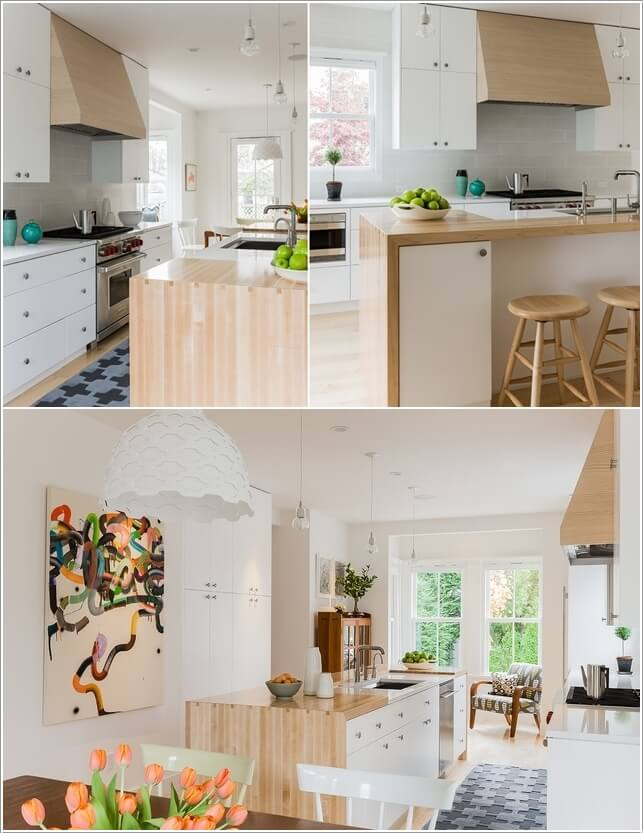 Make Your Kitchen Island Interesting and Cool 3
