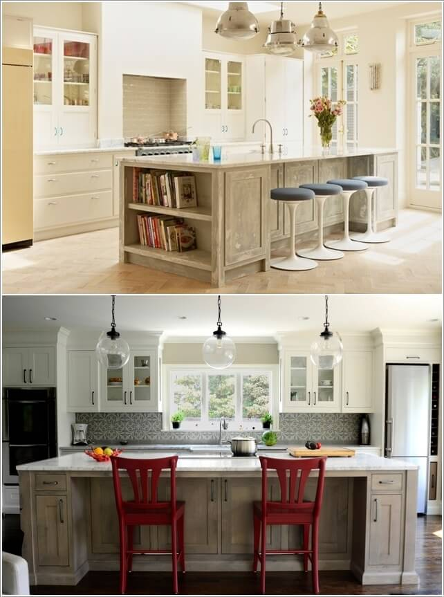 Make Your Kitchen Island Interesting and Cool 6