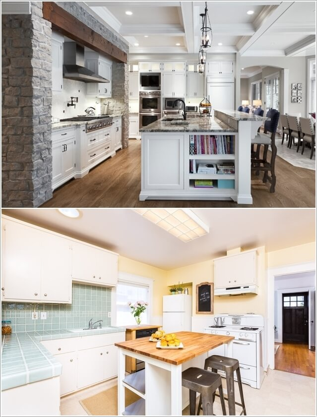 Make Your Kitchen Island Interesting and Cool 9