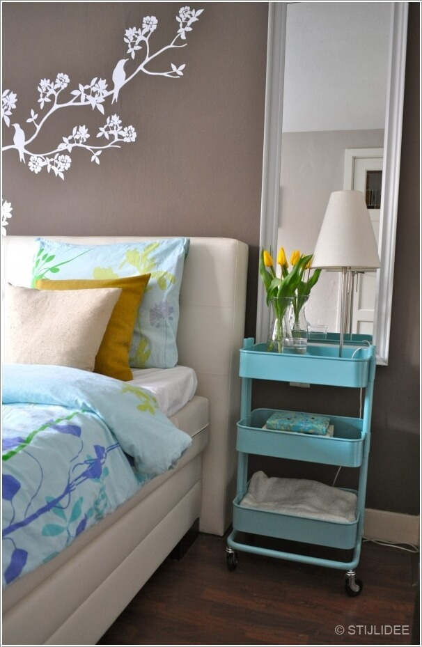 Replace Your Ordinary Nightstand With A Storage Solution