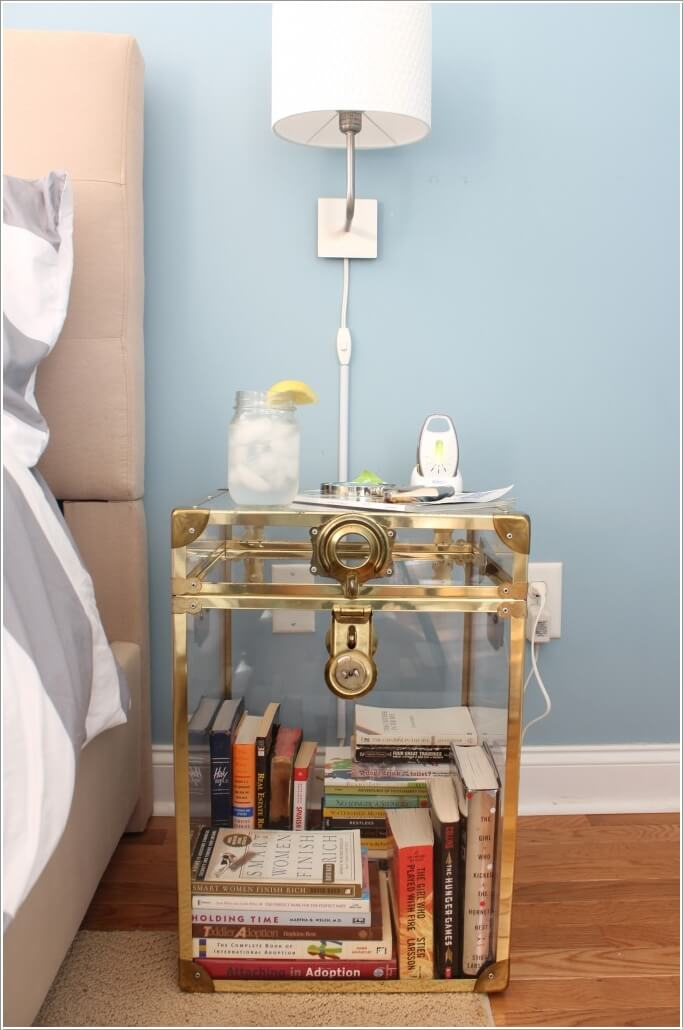 Replace Your Ordinary Nightstand with a Storage Solution 8