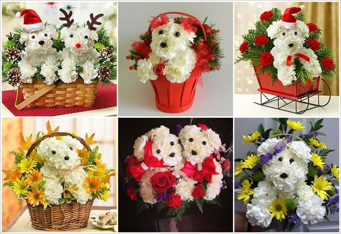 These Puppy Bouquets Are Guaranteed to Be a Party Decor Hit 1