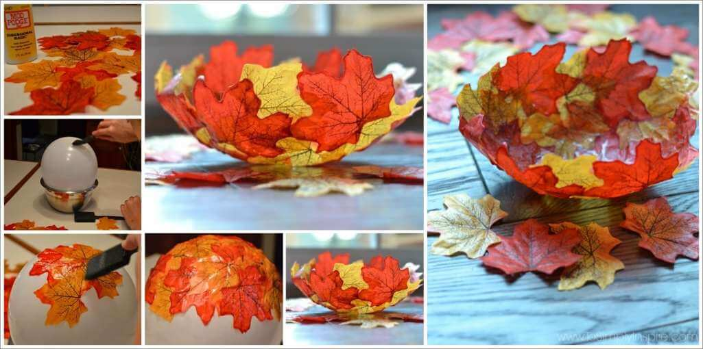This Fall Leaf Bowl is Just Lovely 1