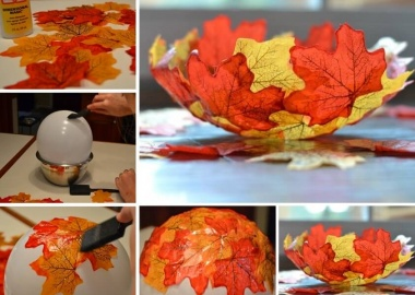 This Fall Leaf Bowl is Just Lovely fi