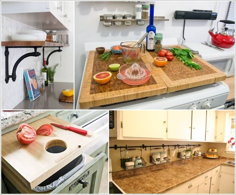 Add More Counter Space Through These Clever Ideas 1
