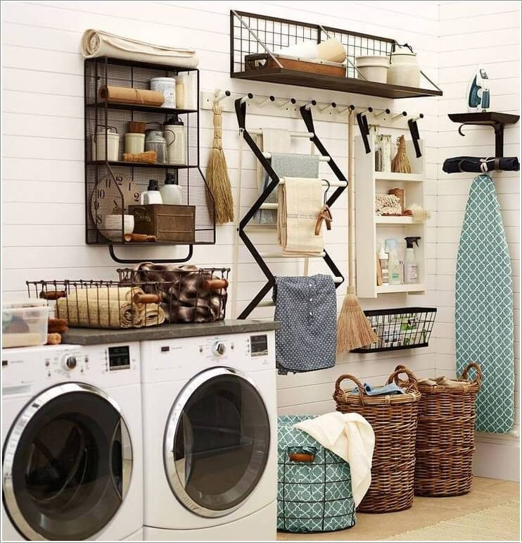 Choose a Laundry Room Shelving That Suits Your Needs and Style 10