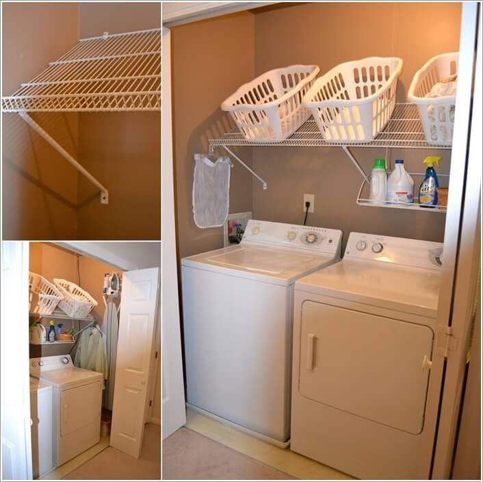 Choose a Laundry Room Shelving That Suits Your Needs and Style 4